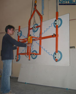 vacuum lifting for glass